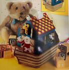 """NOAH'S ARC TISSUE BOX COVER '' ~*~PLASTIC  CANVAS PATTERN~*~"