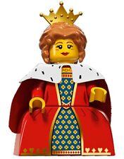 LEGO Minifigures Series 15 Queen with crown - suit castle set