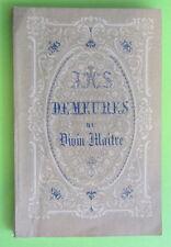 Antico libretto canivet santino holy card  Demeures du divin maitre 16 immagini