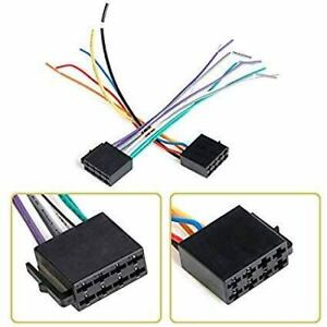 Universal male ISO Wiring Harness Car Stereo Adapter Connector Radio Plug.....