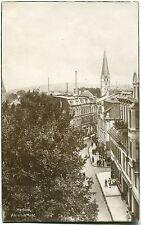 HERFORD am Alten Markt Straßenpartie aus der Vogelschau 20er Ja.