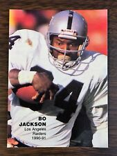 1990 BO JACKSON M.V.P. #10 Pacific /Broder Type Limited Edition Card   L12105718