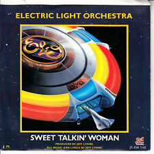 ELECTRIC LIGHT ORCHESTRA Sweet Talkin' Woman E.L.O. PICTURE SLEEVE PURPLE 45 NEW