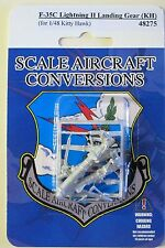 F-35C Lightning II Landing Gear for 1/48th Scale Kitty Hawk Model SAC 48275