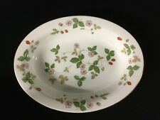 Wedgwood Wild Strawberry Oval Serving Bowl