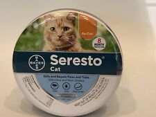 New!  Seresto Flea Tick Collar for Cat 8 Months Flea and Tick Free Shipping