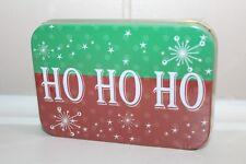 Christmas Gift Card Holder Tin Ho Ho Ho