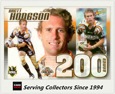 Select NRL Limited Edition Case Card: 2008 NRL Champions CC12 Brett Hodgson