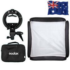 AU STOCK Godox 80x80cm Flash Softbox Kit with S-Type Bracket Bowen Mount Holder
