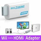 Adapter für Nintendo Wii HDMI Konverter Stick 1080p Full HD TV Audio 3,5 AV Kabe