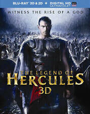 The Legend of Hercules (Blu-ray, 2014 3D W/ UltraViolet) NEW SEALED W/ Slipcover