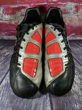 Nike Mens Rare Total90 Shoot lll L-FG 385401-061 Black Red Soccer Cleats SZ 10.5
