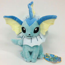 Pokemon Vaporeon Plush Soft Toy Stuffed Animal Doll Teddy 9""