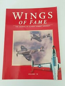 Book paperback -Wings Of Fame -Volume 16- The Journal of Classic Combat Aircraft