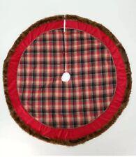 "Katherine's Collection Aspen Christmas 64"" Tree Skirt 30-930180 NEW"