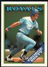 1988 Topps Tiffany Baseball - Pick A Player - Cards 601-792