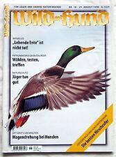 WILD und HUND - Für Jäger und andere Naturfreunde - Nr. 18 / Aug. 1998