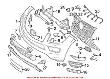 For Mercedes Genuine Headlight Washer Cover Right 16686003089999