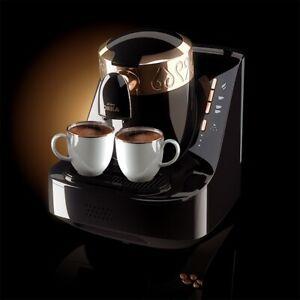 Arzum Okka OK001 Automatic Turkish/Greek Coffee Maker/Machine, Black/Gold