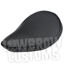 Sully's smooth Solo Seat - Black - Harley Ironhead Triumph XS650 Panhead