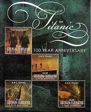Grenadian Transports Postal Stamps