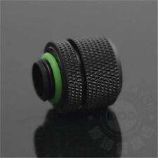 14MM G1/4 coupling fitting for OD 14MM Rigid tubing water cooling Black