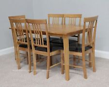 Solid Wood Traditional Table & Chair Sets