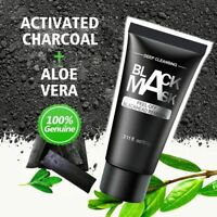 Black Peel Off Charcoal Mud Facial Face Mask Deep Cleansing Blackhead Remover
