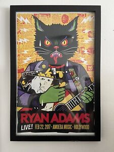 Ryan Adams 12x18 Art Print Poster Live At Amoeba Records 2017 Hollywood