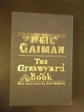 The Graveyard Book Neil Gaiman Dave McKean Subterranean Press Signed Unopened