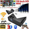 Smart Android IOS 4K 1080P HD WiFi Bluetooth 3D LED Home Cinema Video Projector
