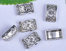 free ship 20pcs Tibetan Silver  2-holes Spacer Beads 13x8.2x5mm