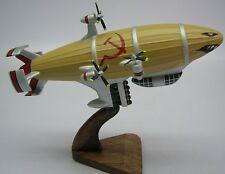 Soviet Kirov Airship Red Alert  C&C Wood Model FreeShip