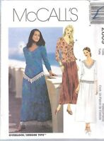 UNCUT McCalls Sewing Pattern Misses Easy Fitting Two Piece Dress 2809 6 8 10 OOP