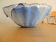 Blue Lavorazione Arte Murano bowl