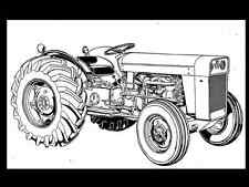 Massey Ferguson To-35 Mf 202 204 Tractor Parts Manual + Gas & Diesel Spares List