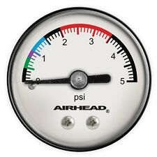 AIRHEAD Kwik Tek Pressure Gauge for ALL Tubes Towables Beach Toys Multi-Tip NEW