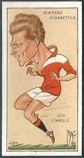 """PLAYERS 1927 FOOTBALL CARICATURES BY """"MAC""""- #07-MIDDLESBROUGH-GEORGE CAMSELL"""