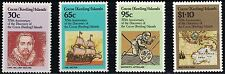 Cocos Islands SC115-118 375thAnniv.Of Islands Discovery-Capt.Wm.Keeling MNH 1984