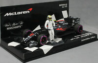 Minichamps McLaren Honda MP4-31 Abu Dhabi 2016 Jenson Button 53164022 Ltd 1008