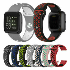 For Fitbit Versa Lite Replacement Silicone Sports Band Strap