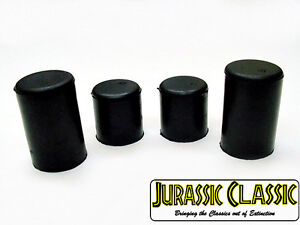 """Fits Buick 5/8"""" 3/4"""" Water Pump Heater Core Rubber Hose Caps Blockoff Plugs nos"""
