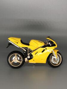 Maisto Ducati Motorcycle Yellow