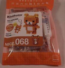 Kawada nanoblock Mini RILAAKKUMA - japan building toy NBCC_068 Worldwide
