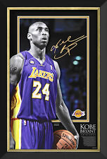 Kobe Bryant Portrait Of A Hero - Limited Edition of 224 - Facsimile Signature