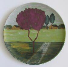 """VIETRI Italy Large 15.5"""" Purple Tree Wall/Display Platter"""