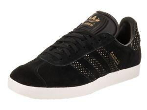 womens gazelle adidas black
