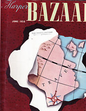 Harper's Bazaar June 1938 CASSANDRE Chanel Princess Natalie Paley Huene