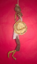 Handmade Fairtrade African Woman with Basket Christmas Tree Decoration