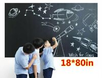 Large CHALKBOARD Wall Sticker Blackboard Decal Kid Home School Remote Learning